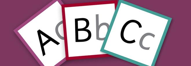 Big and Small Alphabet