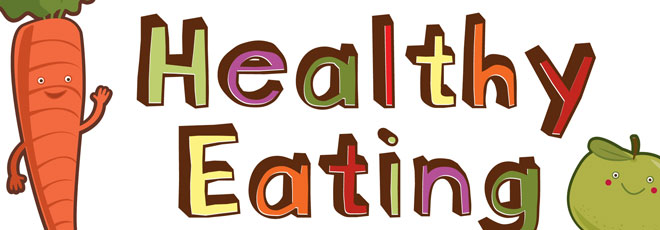Healthy Eating Sign
