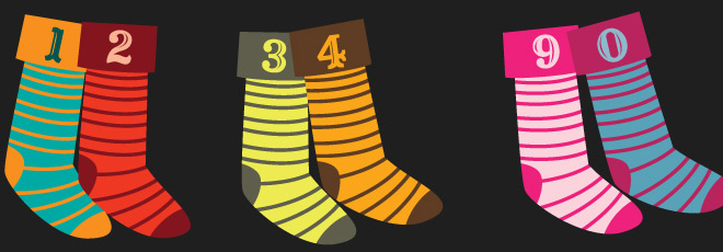 Number Stockings